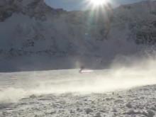 Erste Impressionen vom Stubaier Gletscher auf dem SportScheck GletscherTestival