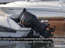 Pass godt på båt og båtmotor i sommer