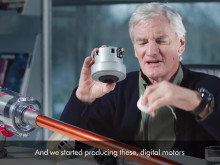 James Dyson talks about Dyson Cyclone v10 - Digital Motor V10