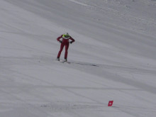 Carl Ribbegårdh, Ålberga GIF, tränar inför VM i speedski 2019