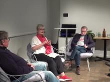 Debatt om bostadsbrist och marknadshyror fyllde arenan (Del 2)