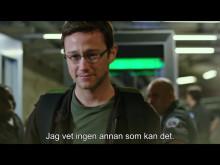 Trailer för Snowden - på bio 16 september!
