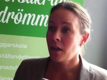 Intervju med Maria Wetterstrand, fd språkrör Miljöpartiet