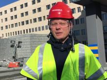 Håkan Sjöstrand, teknisk fysiker vid Akademiska sjukhuset.