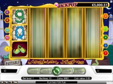 Arabian Nights video slot at Vera&John Casino