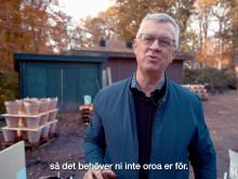 Claus Dalby förbereder vårens lökar på Sofiero