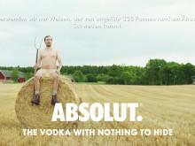 Absolut. The Vodka with nothing to hide:  Alle Zutaten kommen aus der Umgebung von Åhus