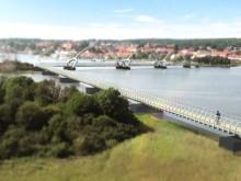 Europas längsta gångbro byggs i Sölvesborg