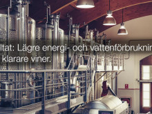 Modern och miljövänlig vinproduktion med Alfa Lavals unika tekniksamarbete.