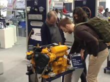 OXE Diesel distributor Bukh-Bremen GmbH at the Boot Düsseldorf trade fair, hall 10 / E59 - G59