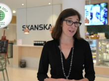 Lena Hök, Skanska om vinsten i Sustainable Brand Index B2B 2017 (lång version)