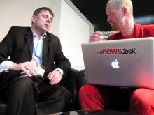 The Future of Journalism. Interview with Nick Wrenn from CNN International at Social Media World Forum, London.