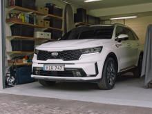 Ny Kia Sorento-teknologi hjælper ejere ind og ud af trange parkeringspladser