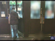 CCTV of assault outside pub