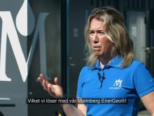 Malmberg EnerGeo® Prefabricerad Geoenergianläggning installeras hos Börjessons Lastbilscentral i Kristianstad