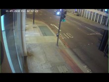 Footage of suspect at Great Eastern Street