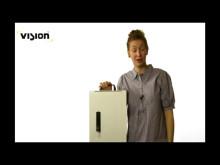 Låssystem Vision - för elskåp, serviceskåp mm