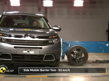 Citroen C5 Aircross Euro NCAP testing montage April 2019