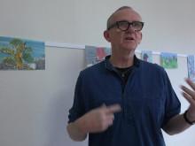 Ateljébesök med Dan Wirén inför utställningen Vehicles and Vessels på Färgfabriken