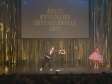 Årets Kvindelige Ensemblerolle 2017 går til Maria Rich, 'Living Dead', Aarhus Teater og Sort/Hvid