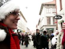 Göteborgs Lucia värmer upp Julstaden Göteborg