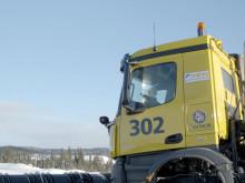 Førerløse brøytebiler Avinor - råmateriale