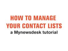 Guide: Slik håndterer du dine distribusjonslister