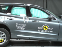 Volvo XC60 crash test montage