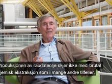 Professor Jan Raa forteller om produksjonen av naturens ferdigpakkede olje