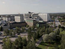 Aerial view of Campus Umeå