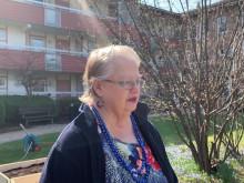 Marianne om odlingslådorna på Drejaren