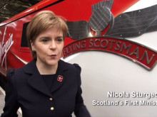 VIDEO REPORT: Virgin Trains Flying Scotsman