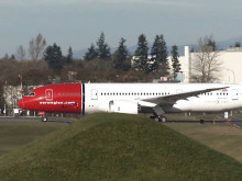 Norwegian 787 Dreamliner Delivery November 2013