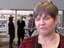 Lantmäteristudenter presenterar förslag kring stadsdelen Tingvalla i Trollhättan