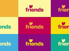 Friends nya visuella identitet 2019