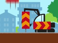 Spårväg Lund C - ESS: Animation om byggprocessen