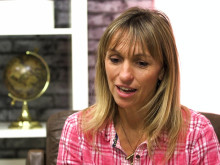 Michaela Strachan talks about achieving her goals.
