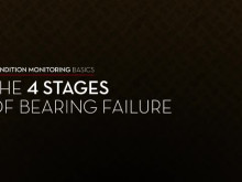Condition Monitoring Basics: 4 Stages of Bearing Failure