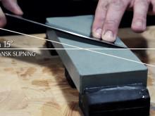 Knivslipning med Knivakademin