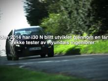 Teaser: i30 N testing i England