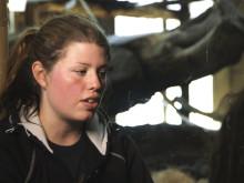Furuviks djurvårdare Nathalie berättar om orangutangerna