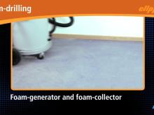 Clipper Foam: Kerneboring med skum i stedet for vand