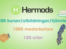 Vi vill berätta om Hermods – ett av Sveriges äldsta utbildningsföretag som utvecklat, byggt och bidragit till vårt samhälle.