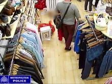 CCTV footage of theft incident