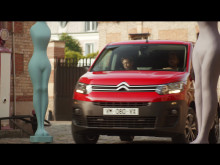 Nya Citroën Berlingo LCV: Kupé, interiör