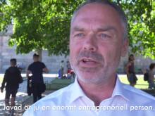 Jan Björklund antar #integrationsutmaningen - träffar Javad