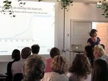 Hållbar utveckling avgör framtiden - presentation av Anna Borgeryd i Almedalen