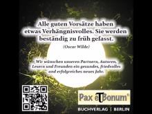 Pax et Bonum Neujahrsgrüße zum Jahr 2017