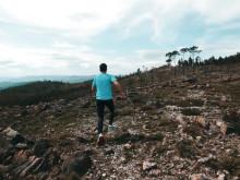 Trail Vila de Basto den 17 maj i Portugal