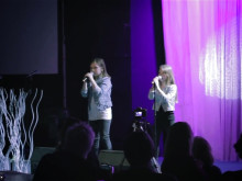 Alice och Jennifer på Rework i Vasterås